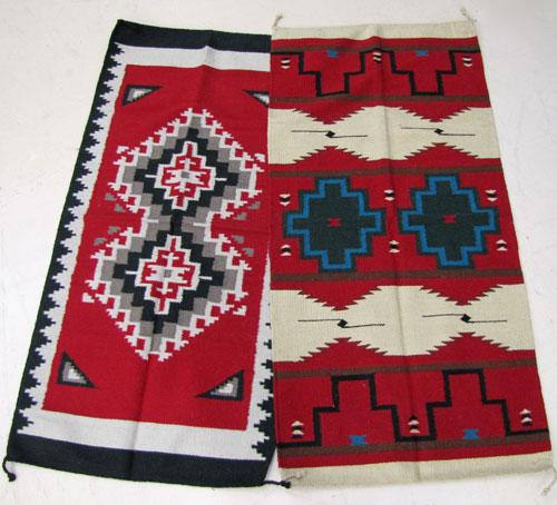 "4 Southwest Style 32""x64""  Wool Rugs!  Wholesale $41 ea.!"
