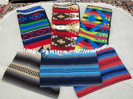 COLORFUL BLANKET COMBO ! 6 Piece Colorful Blanket Combo ! Wholesale $19.25 ea.!