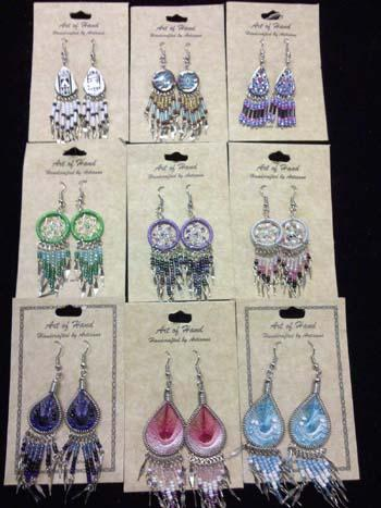 EARRING BONANZA! 72 PAIRS Proven Best Sellers! WHOLESALE- $2.50 ea.!