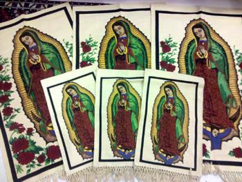 THEY ARE HERE! Virgin of Guadalupe Wall Hangings! WHOLESALE $7.13 ea!