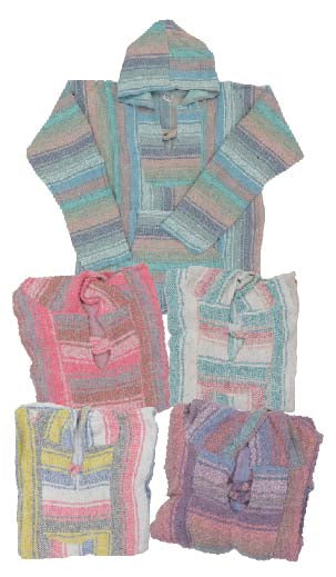 20 Mexico Pastel Baja Pullovers! WHOLESALE ONLY  $7.50 ea.