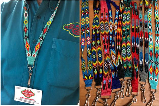 10 pc SouthWest Hand beaded Lanyards !  Wholesale $7.50 ea.!