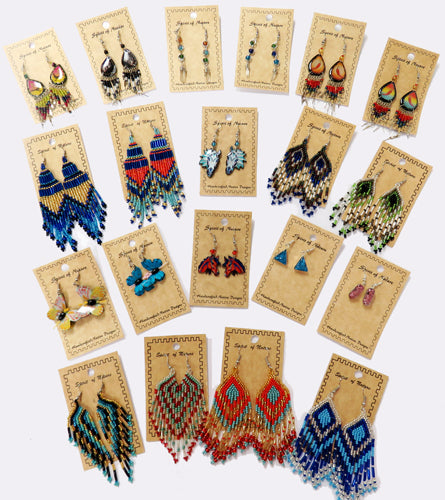 New! 50 Pair Assorted Earring Mega-Pack ! Wholesale  $2.50 each pair!