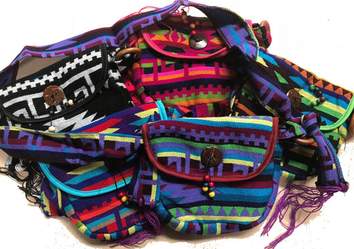 794f68682480 6 Hand Made Guatemalan Southwest Bags ! Wholesale  9.50 ea.
