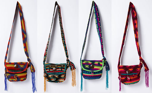 Woven Bag with Adjustable Strap