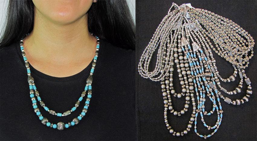 50-Antique Style Fashion Necklaces. WHOLESALE-$2.75 ea.!