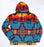Southwest Fleece Pullover A - Large