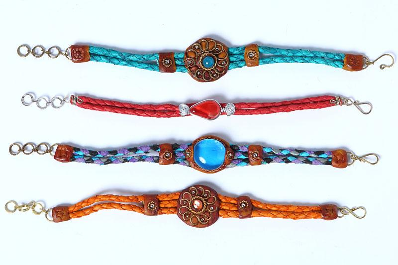 Handcrafted Leather Bracelets