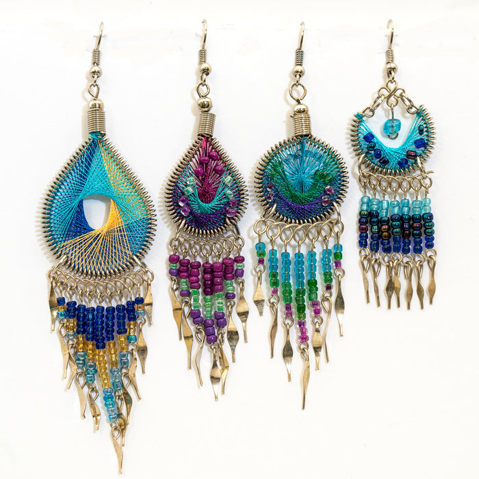 Assorted Handcrafted Earrings from Peru
