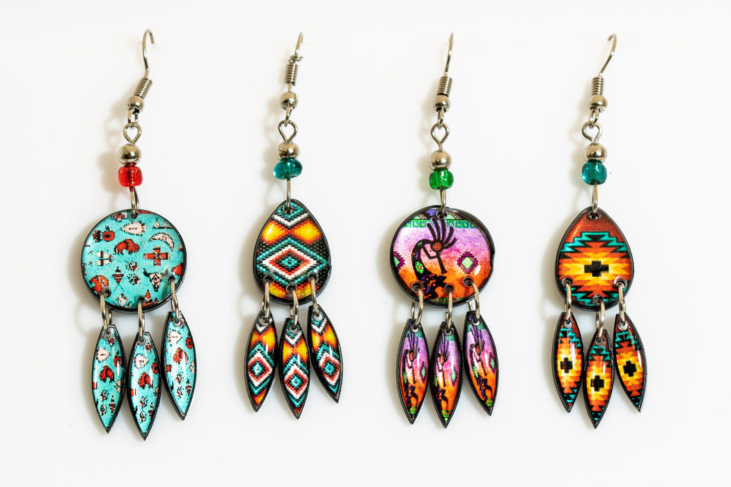 Southwest Design Earrings