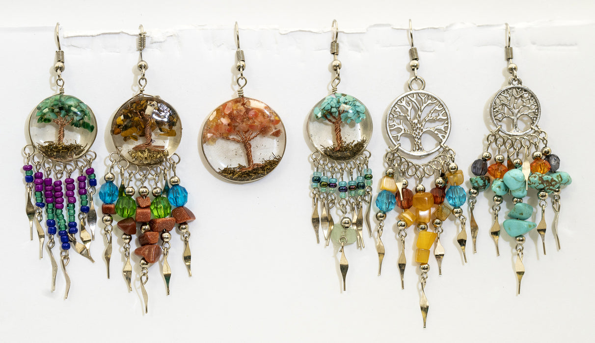 Tree of Life Earrings from Peru