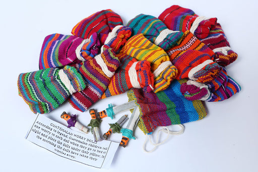 Handcrafted Guatemalan Worry Dolls from El Paso Saddleblanket