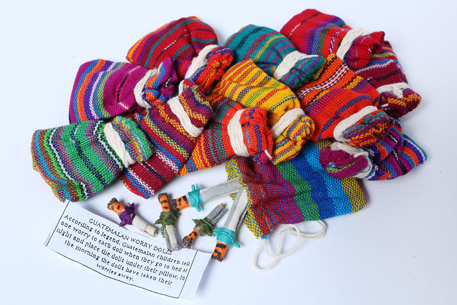 Hand Crafted Guatemala Worry Dolls