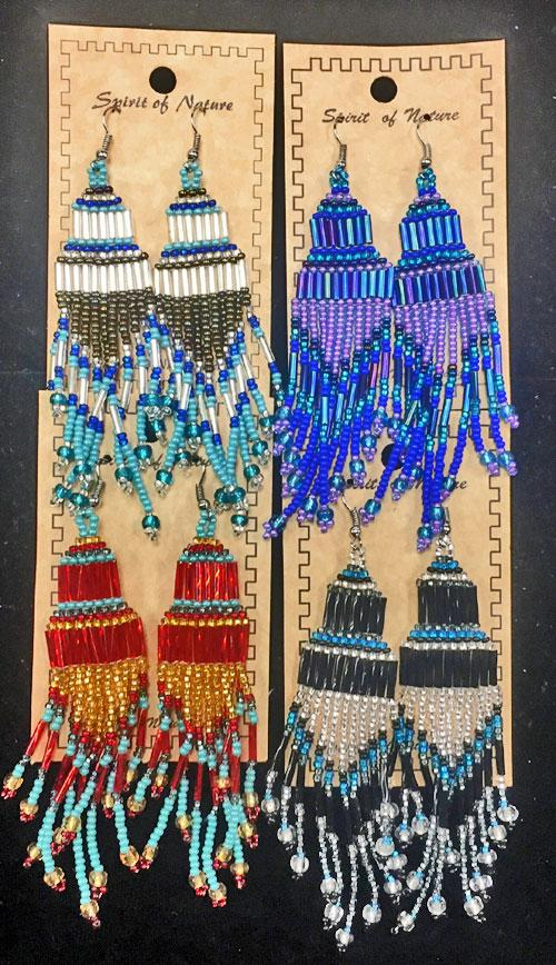 18 Traditional Style Beaded Earrings! WHOLESALE $2.75 each pair!