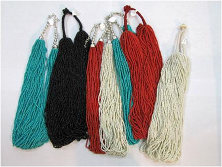 HANDCRAFTED! 20 Multi-Strand Beaded Necklaces. WHOLESALE $2.90 ea. !