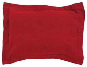PILLOW SHAM RED