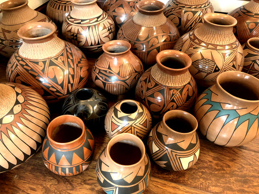 Genuine 8 Casa Grandes Mata Ortiz Pots !  Wholesale only $20 ea.!