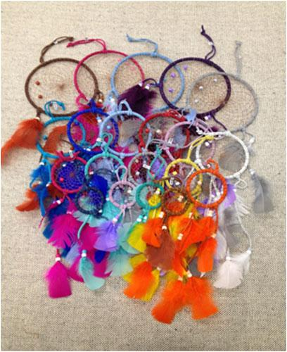 30 Popular Dream Catchers.Wholesale-$2.75 ea!