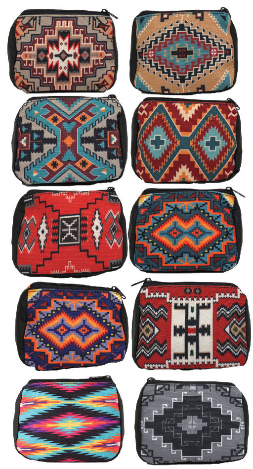 20 Pack - Digital Print Geometric Coin Bags