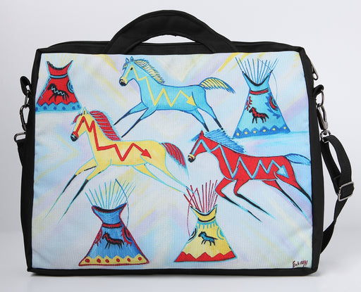 Large Digital Print Laptop Bag 507