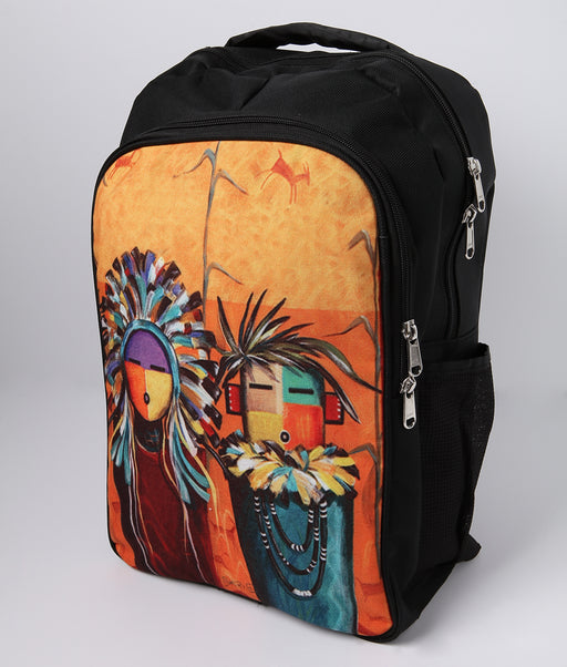 Southwest Native Print Backpack from El Paso Saddleblanket
