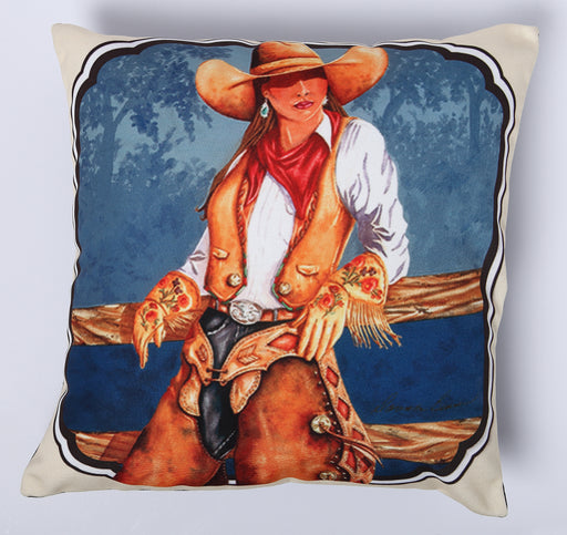 Digitally Printed Pillow Cover 109
