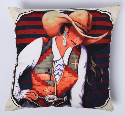 Digitally Printed Pillow Cover 113