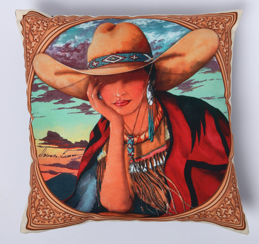 Digitally Printed Pillow Cover 108