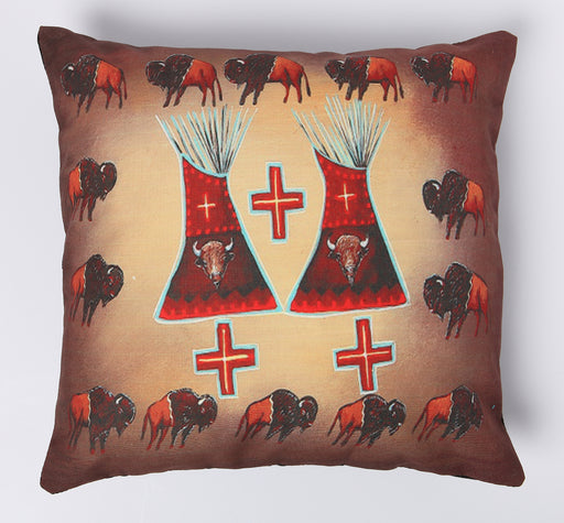 Digitally Printed Pillow Cover-500