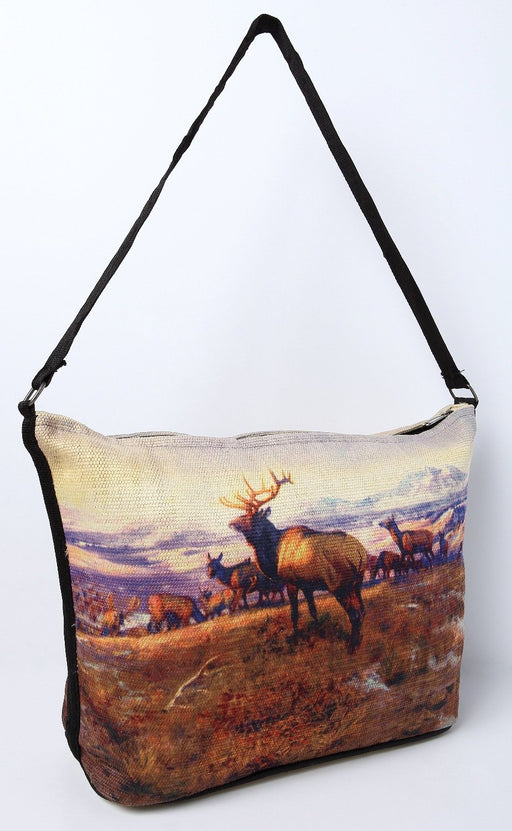 Digital Print Purse, CM Russell The Exalted Leader Design from El Paso Saddleblanket