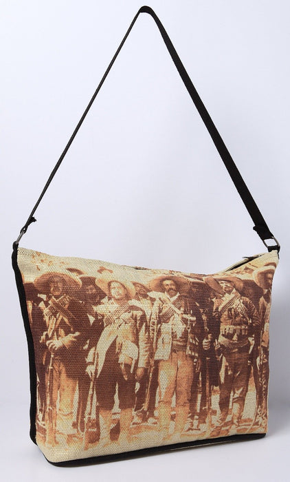 Digital Print Purse, Mexican Revolution design from El Paso Saddleblanket