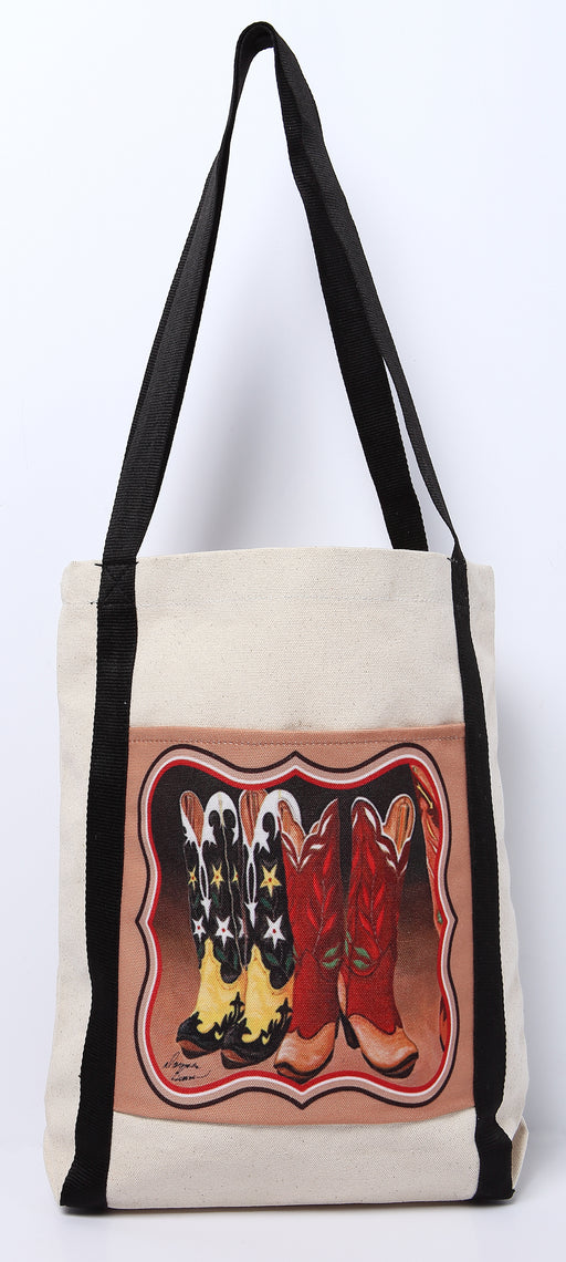 Digital Print Canvas Tote Bag 101