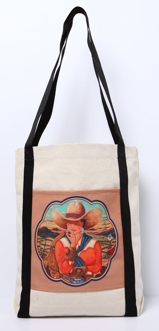 Digital Print Canvas Tote Bag 105