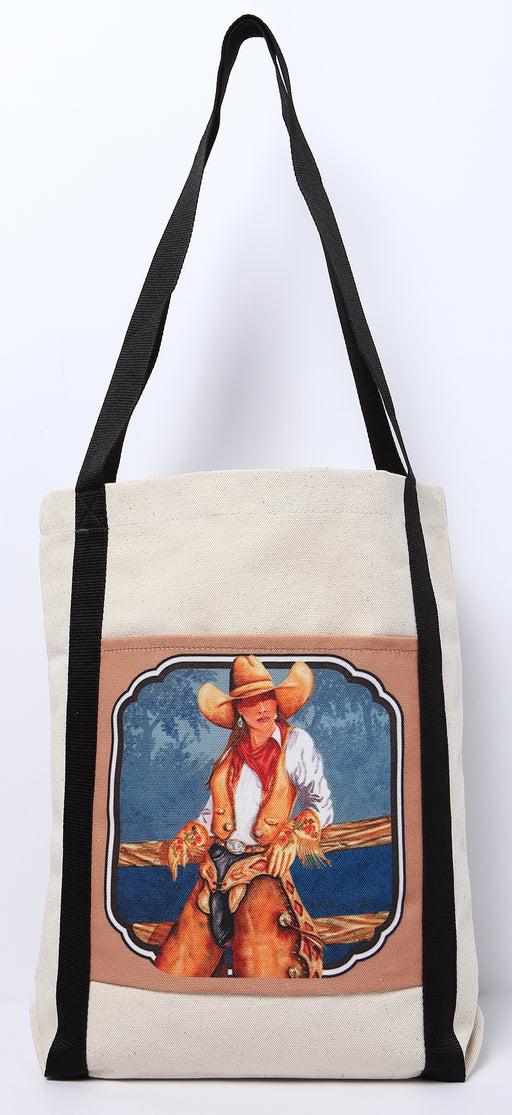 Digital Print Canvas Tote Bag 109