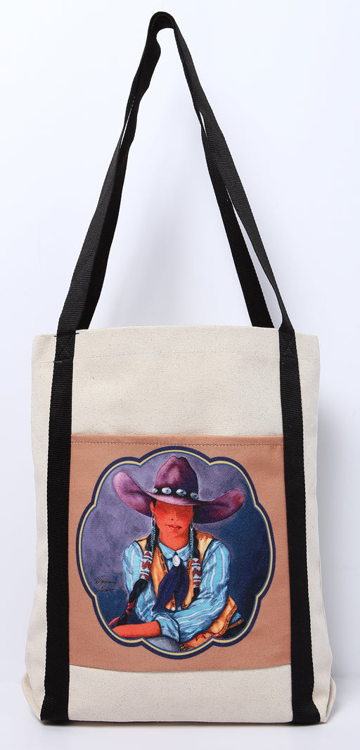 Digital Print Canvas Tote Bag 111