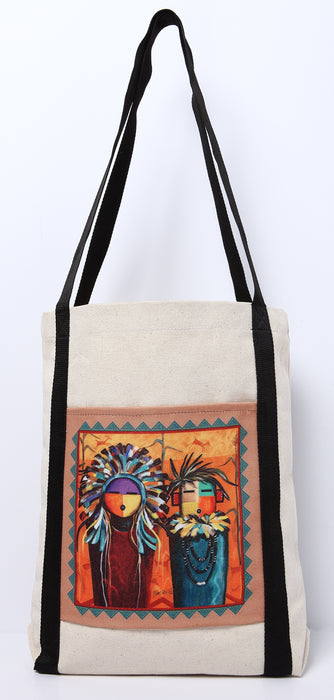 Digital Print Canvas Tote Bag 115