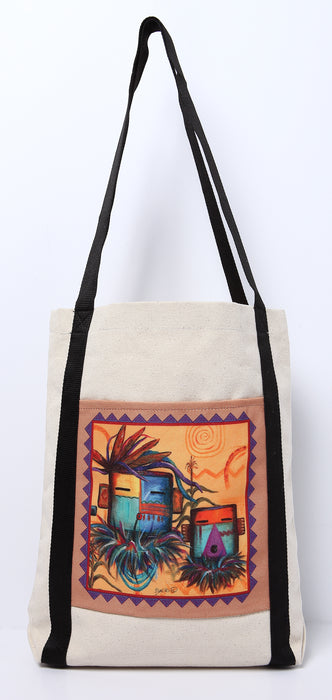 Digital Print Canvas Tote Bag 116