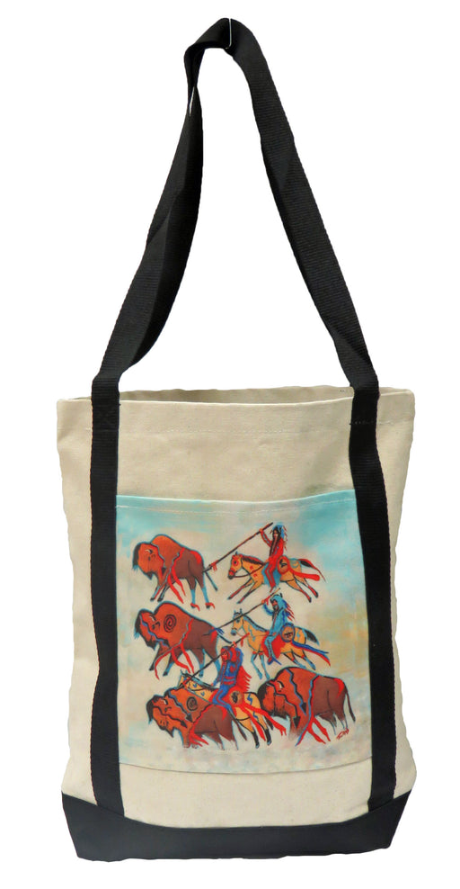 Digital Print Canvas Tote 506