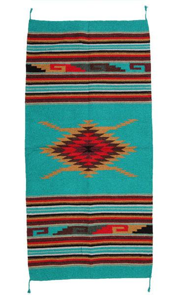 4x6 Southwest Pattern Wool Rug