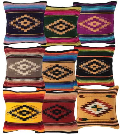 San Carlos Serape Pillow Covers