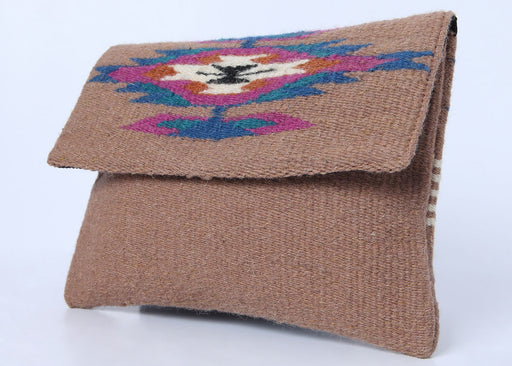 Southwest Chimayo-Style Clutch Purse in design H