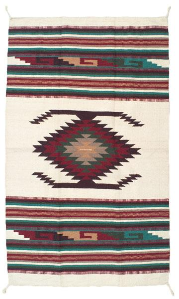 20 x 40 Southwest Pattern Wool Rug