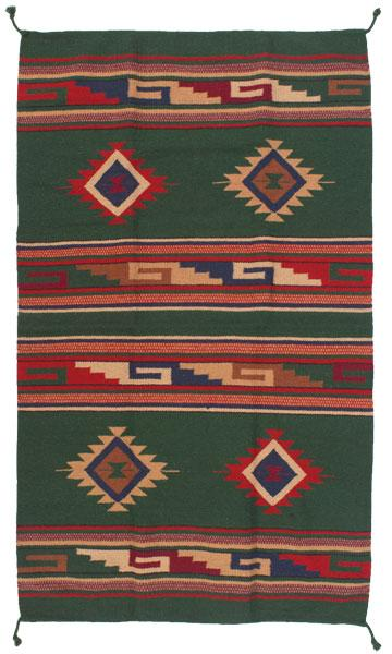 4 x 6 Southwest Pattern Wool Rug