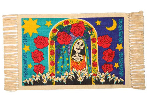 Cotton Stencil Placemat - Day of the Dead 209