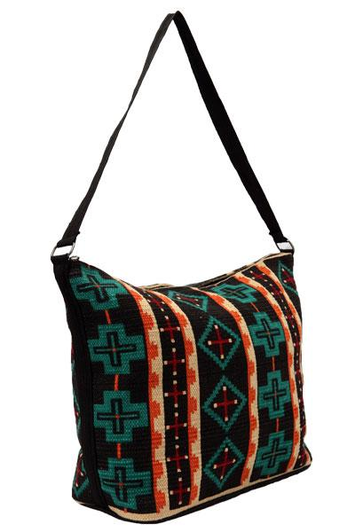 Cotton Stencil Purse- Southwest Design