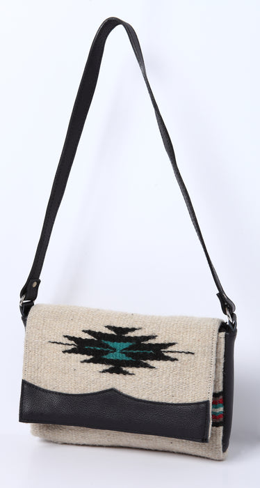 Wool Annie O. Date Purse in design E from El Paso Saddleblanket