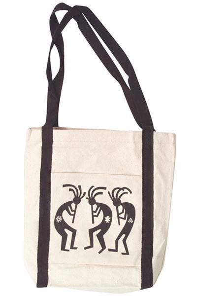 Kokopelli Canvas Tote Bag