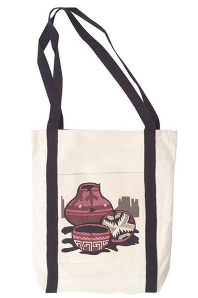 Mimbres Pottery Canvas Tote Bag