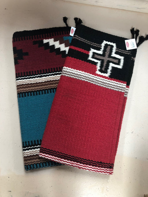 OVERSTOCK SPECIAL !  2 - 8 lb. Heavy Wool Saddleblankets !  Wholesale $ 46 ea.!