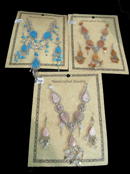 NEW! Earring & Necklace Sets!! WHOLESALE-  $10.05 ea.!